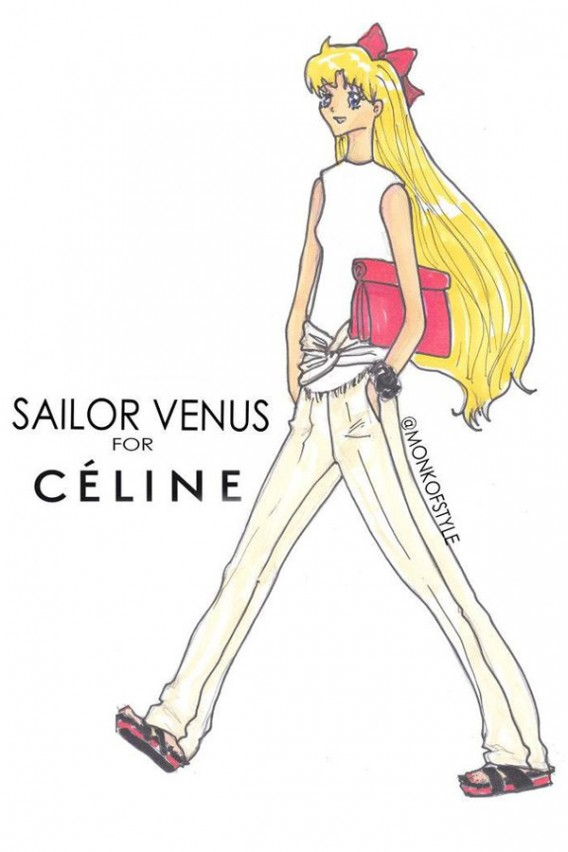 the-style-monk-jerome-le-maan-ilustraciones-illustrations-modaddiction-primavera-verano-2013-spring-summer-2013-moda-fashion-manga-design-diseno-sailor-venus-céline