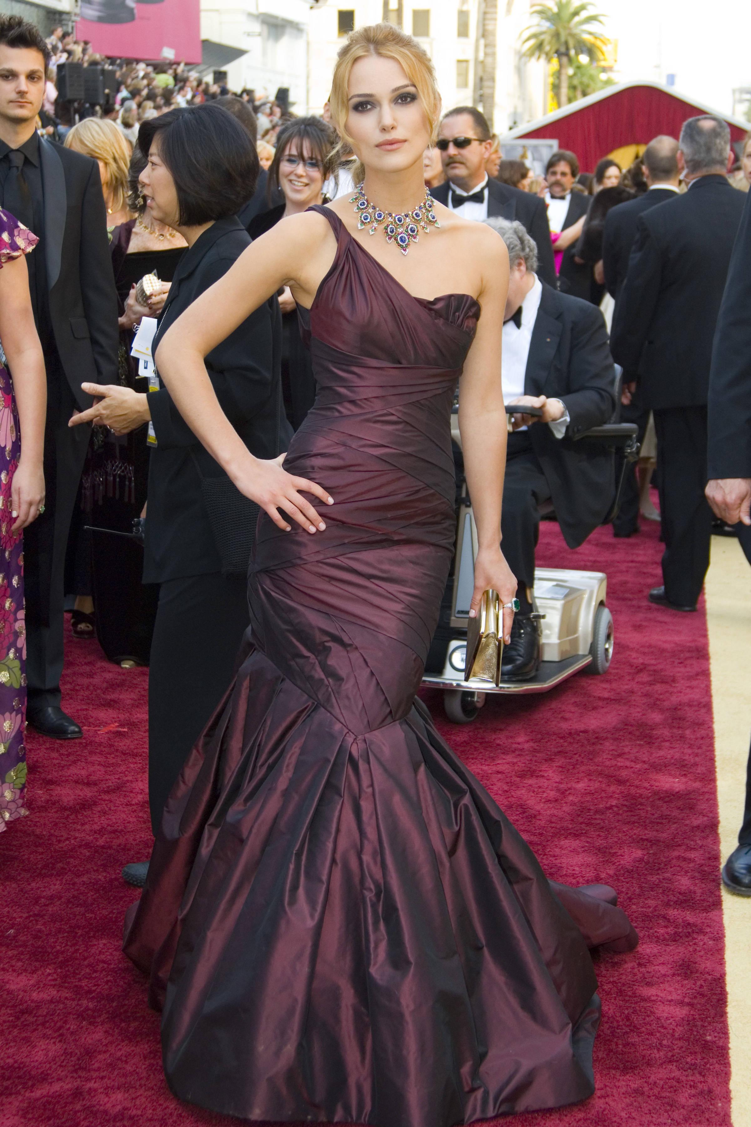 Keira Knightley Red Carpet Dresses Top 10 de las actrices...