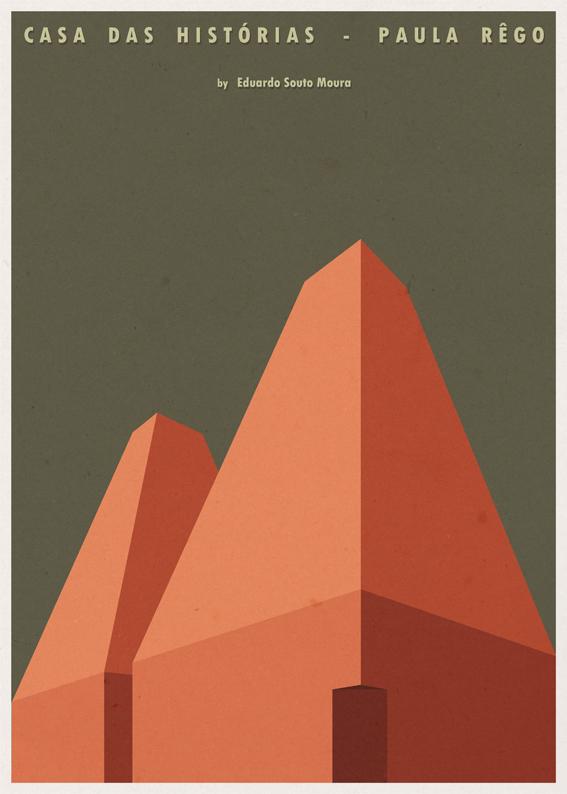 André-chiote-arquitecta-ilustracion-architecture-illustration-modaddiction-arte-artista-art-artist-minimalista-posters-carteles-culture-cultura-design-diseno-eduardo-souto-moura-portugal