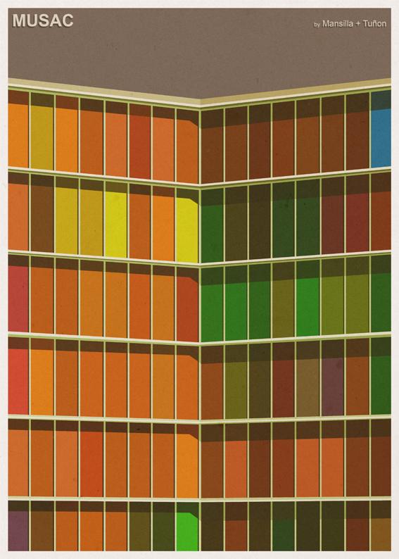 André-chiote-arquitecta-ilustracion-architecture-illustration-modaddiction-arte-artista-art-artist-minimalista-posters-carteles-culture-cultura-design-diseno-mansilla-tunon-espana-spain