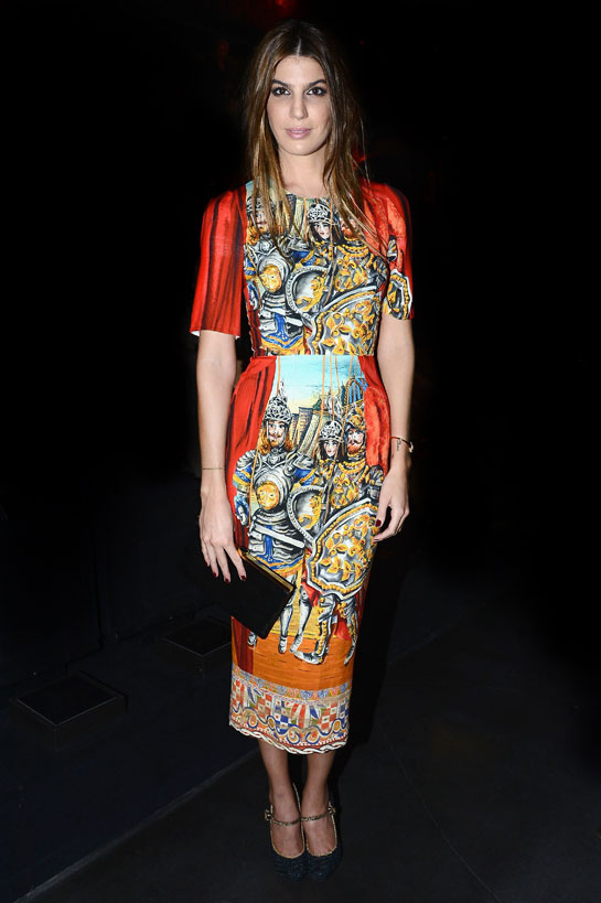 fashion-week-desfile-pasarela-red-carpet-alfombra-roja-modaddiction-estrella-star-people-famosa-cinema-cine-music-musica-moda-fashion-trends-tendencias-dolce-&-gabbana-Bianca-Brandolini