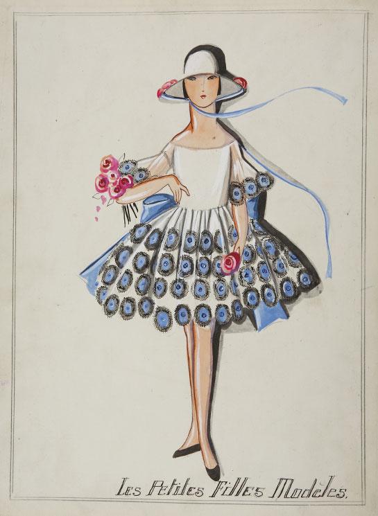 Traje Baño Hombre Antiguo:jeanne-de-lanvin-moda-infantil-kid-fashion-ninos-ninas-children-child