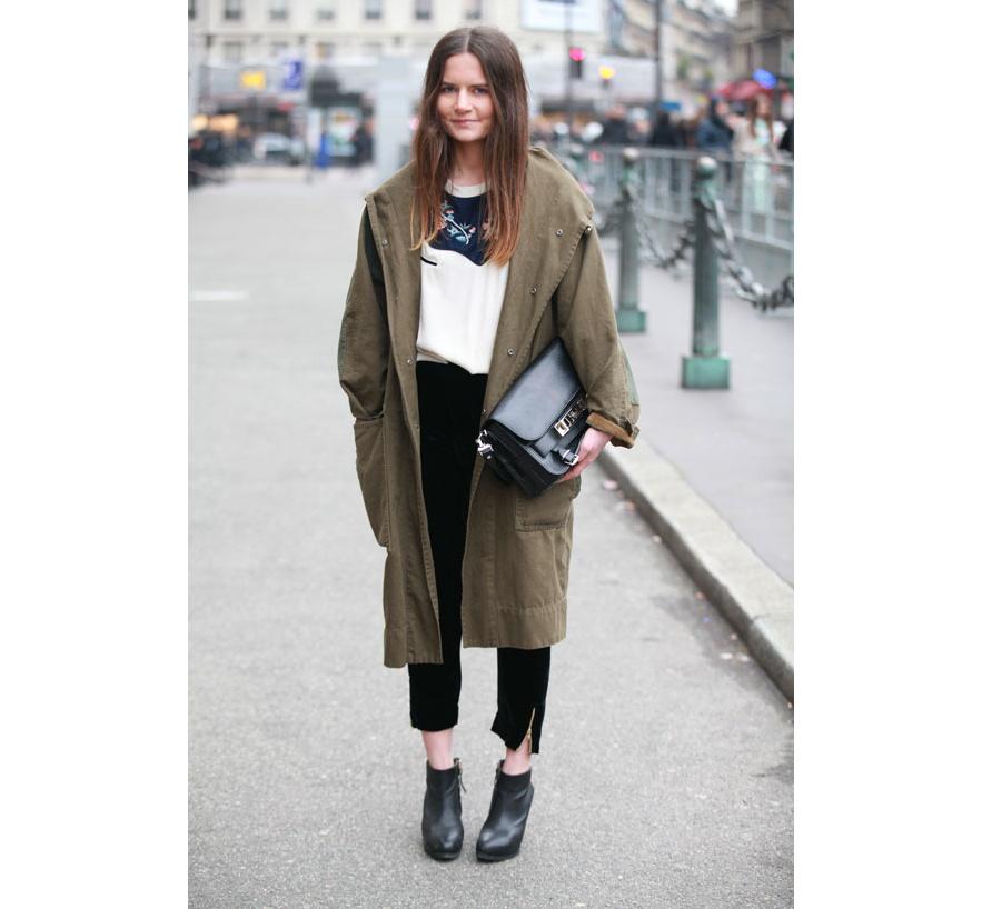 Street Style In Paris Lo Mejor Est En La Calle Pfw