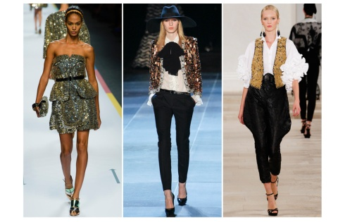 tendencias-primavera-verano-2013-trends-spring-summer-2013-fashion-week-semana-moda-desfile-runway-modaddiction-look-estilo-style-lentejuelas-oro-gold-brillante-chic