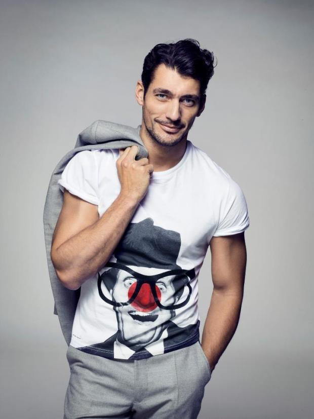 david-gandy-top-model-man-hombre-estilo-style-gentleman-chic-casual-sexy-elegante-modaddiction-cover-magazine-revista-moda-fashion-trends-tendencias-modelo-red-nose-day-2013