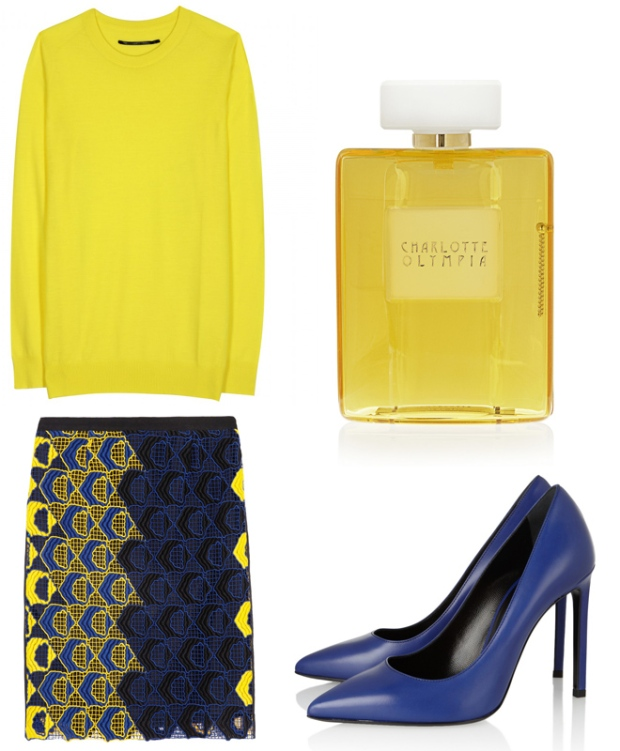 i-colores-it-colours-primavera-verano-2013-spring-summer-2013-estilo-style-look-modaddiction-trends-tendencias-moda-fashion-week-pasarela-amarillo-yellow-michael-kors-2