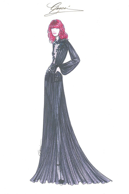 ilustraciones-disenadores-illustrations-designers-boceto-design-diseno-modaddiction-coleccion-collection-moda-fashion-trends-tendencias-Frida-Giannini