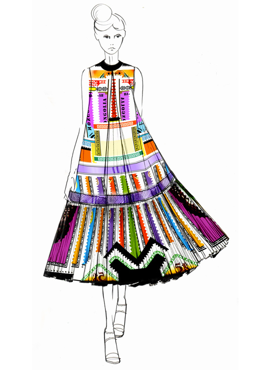 ilustraciones-disenadores-illustrations-designers-boceto-design-diseno-modaddiction-coleccion-collection-moda-fashion-trends-tendencias-Mary-Katrantzou
