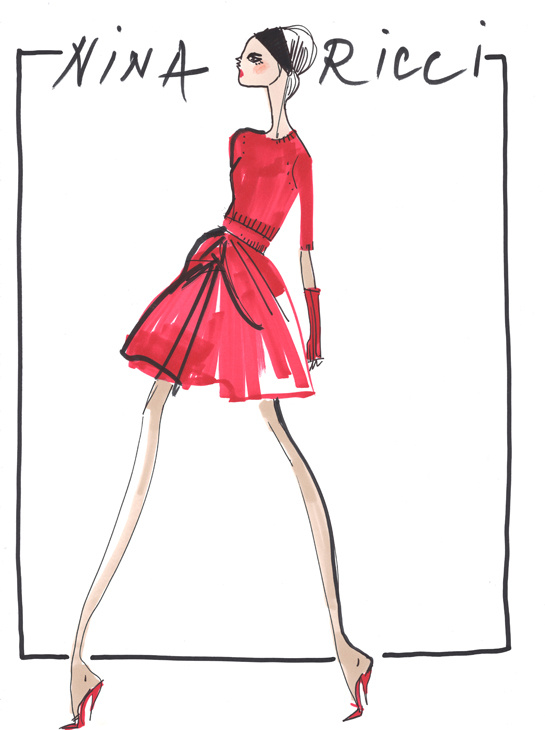 ilustraciones-disenadores-illustrations-designers-boceto-design-diseno-modaddiction-coleccion-collection-moda-fashion-trends-tendencias-Peter-Copping-nina-ricci