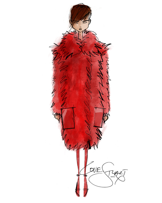 ilustraciones-disenadores-illustrations-designers-boceto-design-diseno-modaddiction-coleccion-collection-moda-fashion-trends-tendencias-Stuart-Vevers-loewe