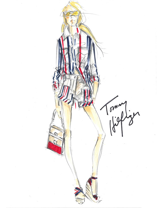 ilustraciones-disenadores-illustrations-designers-boceto-design-diseno-modaddiction-coleccion-collection-moda-fashion-trends-tendencias-tommy-hilfiger