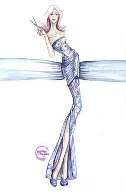 ilustraciones_moda_gema_mejias_mujeres_de_agua_arte_acuarelas_pincel_moda_dibujos_modaddiction_7