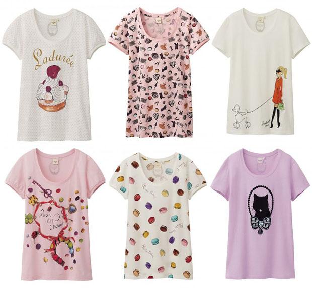 uniqlo-laduree-t-shirt-camiseta-coleccion-capsula-collection-modaddiction-edition-limited-edicion-limitada-colaboracion-collaboration-moda-fashion-paris-maracons-chic-3