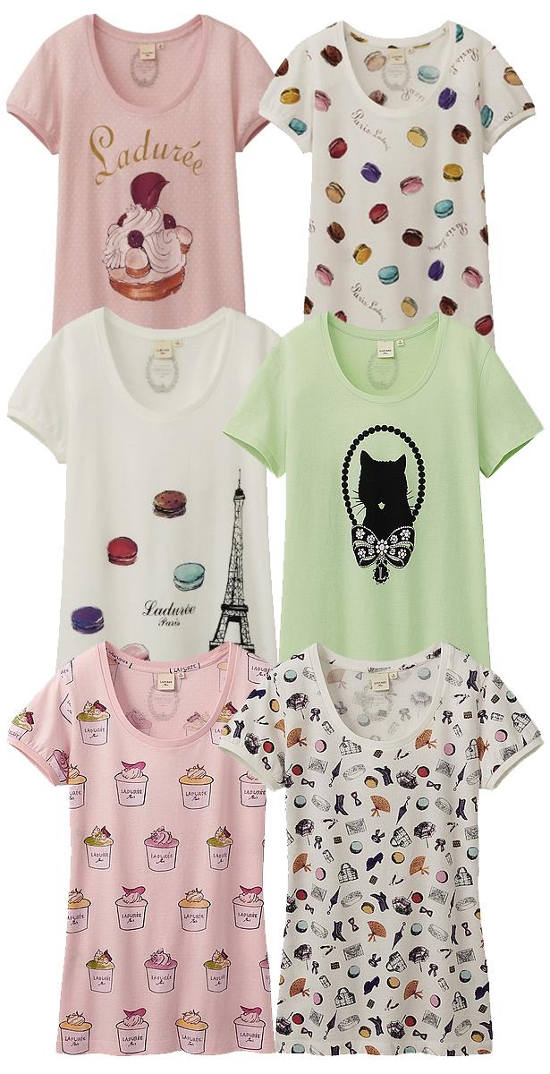 uniqlo-laduree-t-shirt-camiseta-coleccion-capsula-collection-modaddiction-edition-limited-edicion-limitada-colaboracion-collaboration-moda-fashion-paris-maracons-chic-4