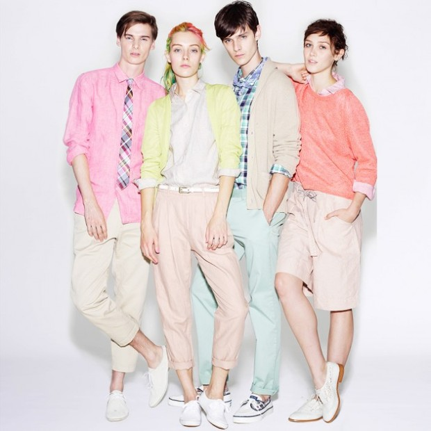 UNIQLO-Spring-Summer-2013-Lookbook-primavera-verano-2013-hombre-menswear-mujer-woman-modaddiction-coleccion-collection-moda-fashion-pastel-denim-8