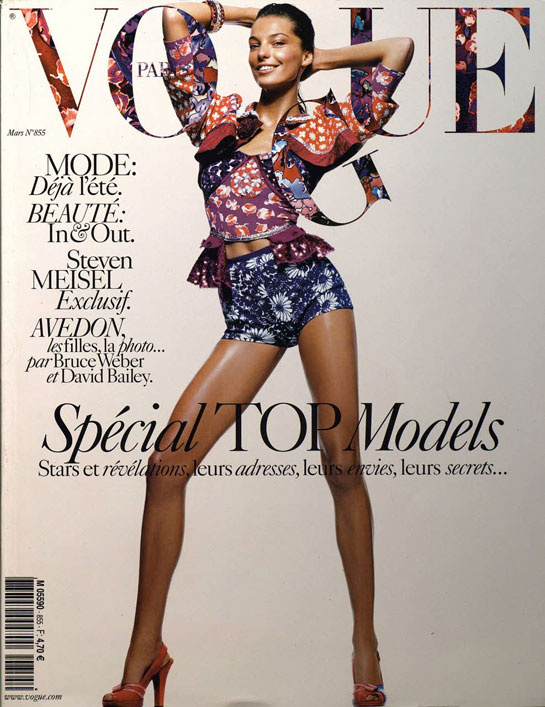 vogue-paris-revista-magazine-primera-portada-first-cover-girl-it-girl-fotografo-photographer-modaddiction-model-modelo-estilo-style-vintage-retro-Daria-Werbowy