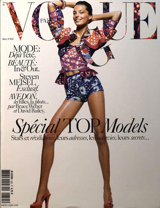 vogue-paris-revista-magazine-primera-portada-first-cover-girl-it-girl-fotografo-photographer-modaddiction-model-modelo-estilo-style-vintage-retro-Daria-Werbowy