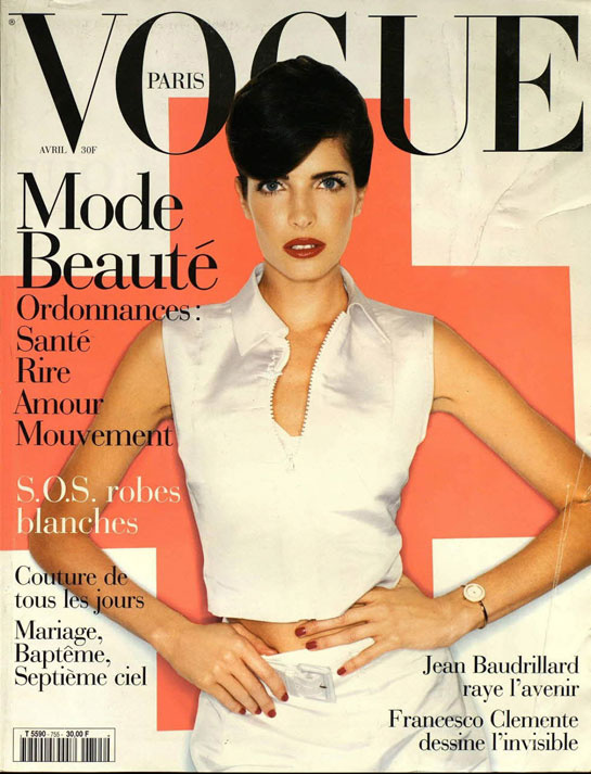 vogue-paris-revista-magazine-primera-portada-first-cover-girl-it-girl-fotografo-photographer-modaddiction-model-modelo-estilo-style-vintage-Stephanie-Seymour