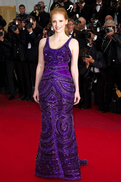 festival-cannes-2013-glamour-alfombra-roja-cine-cinema-marca-moda-fashion-brand-modaddiction-costura-actriz-couture-actress-famosa-people-lujo-Jessica-Chastain-Givenchy