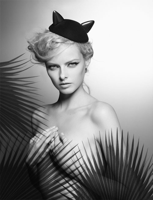 Karl-Lagerfeld-Maison-Michel-campana-publicitaria-campaign-advertising-anuncio-modaddiction-coleccion-collection-fotografias-photographies-blanco-negro-2