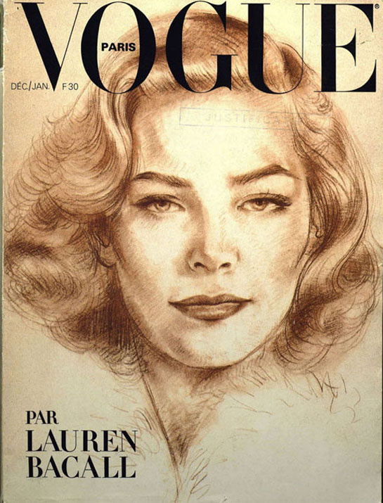 vogue-paris-cine-cinema-actriz-actress-actor-culture-cultura-modaddiction-people-famosa-moda-fashion-revista-magazine-estrella-star-vintage-retro-Lauren-Bacall