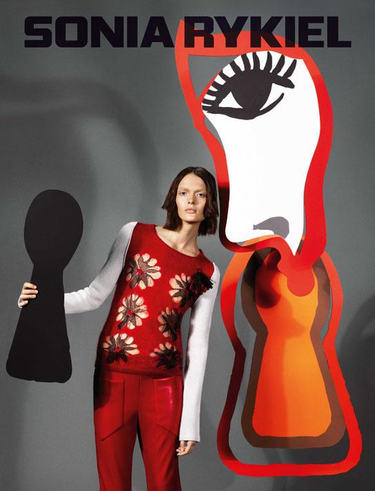 campanas-publicitarias-otono-invierno-2013-2014-campaign-fall-autumn-2013-2014-modaddiction-lujo-moda-fashion-luxe-Sonia-Rykiel