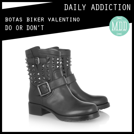 daily-addiction-boots-botas-biker-leather-cuero-valentino-collection-fall-winter-invierno-2013-modaddiction