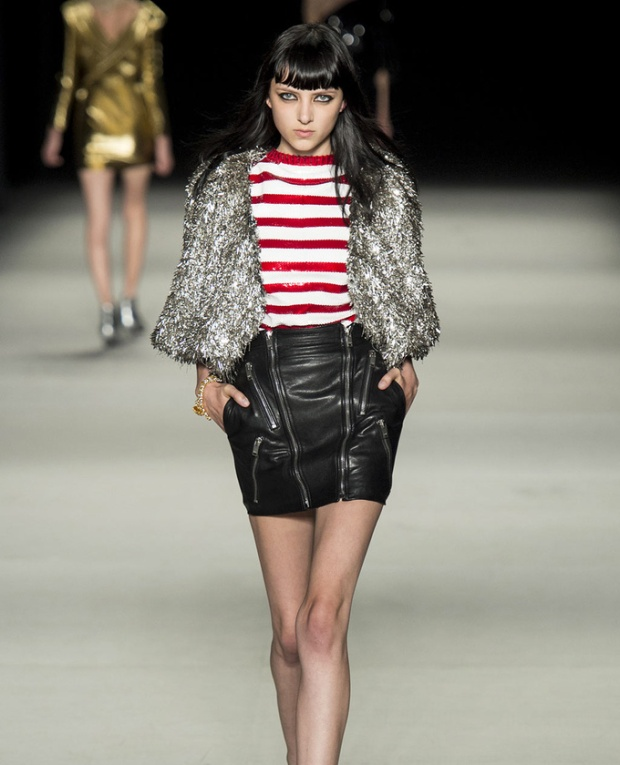 paris-fashion-week-pring-summer-2014-semana-moda-primavera-verano-2014-modaddiction-desfile-catwalk-pasarela-runway-chic-estilo-style-saint-laurent-1