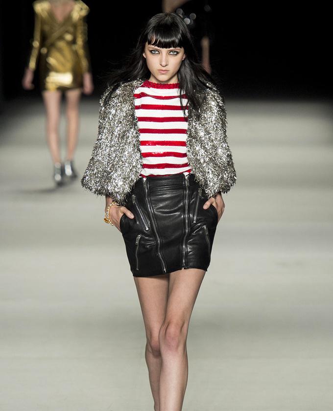 paris-fashion-week-pring-summer-2014-semana-moda-primavera-verano-2014-modaddiction-desfile-catwalk-pasarela-runway-chic-estilo-style-saint-laurent-1