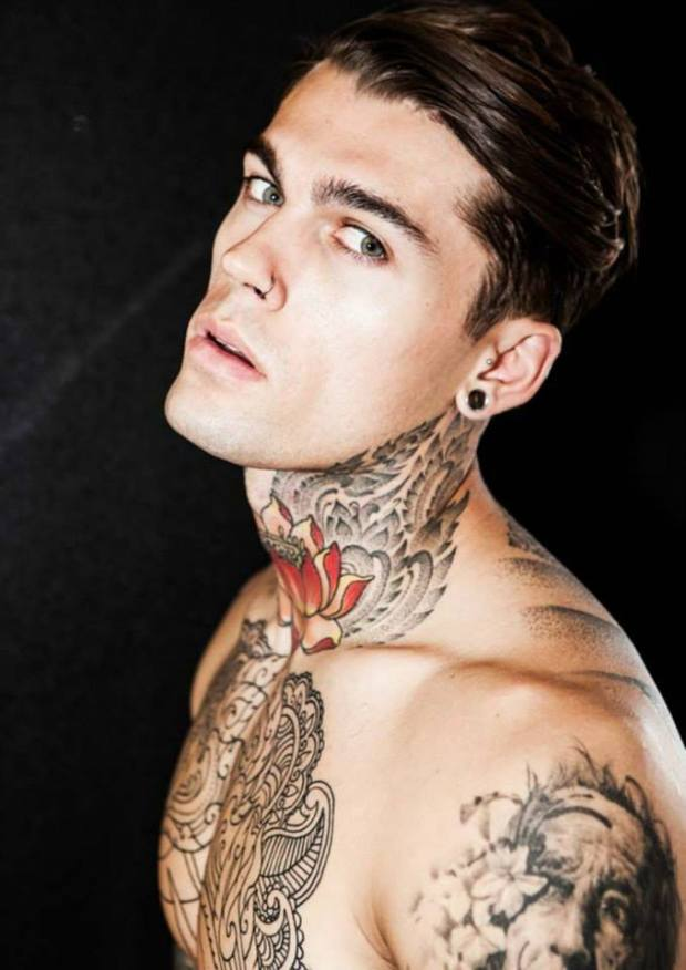 stephen-james-top-model-london-elijah-tattoo-catwalk-pasarela-modaddiction-9