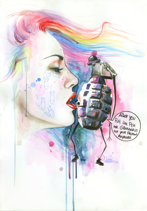 lora-zombie-art-grunge-contracultural-russian-artist-paints-acuarelas-modaddiction-6