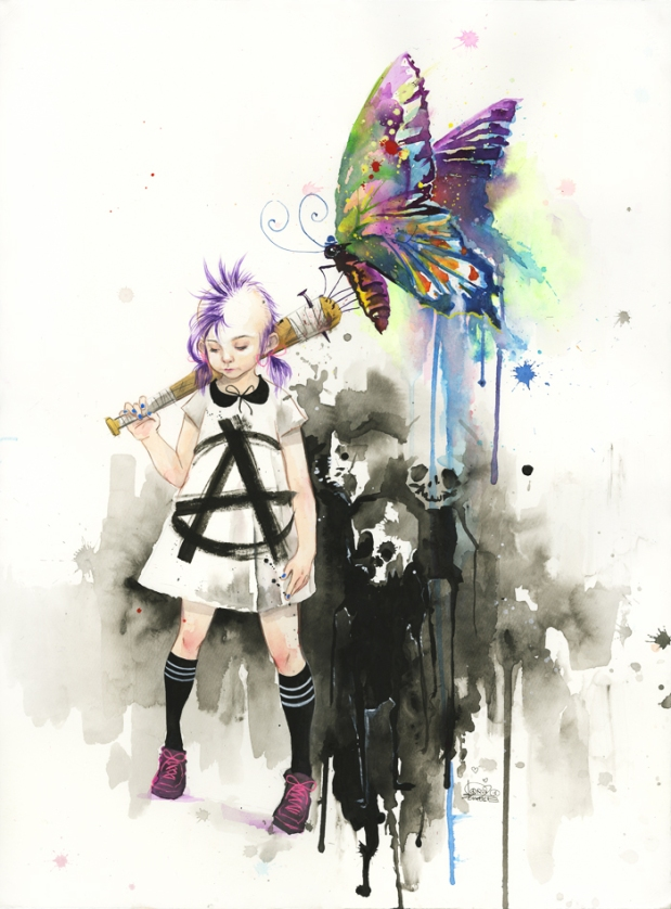 lora-zombie-art-grunge-contracultural-russian-artist-paints-acuarelas-modaddiction-7