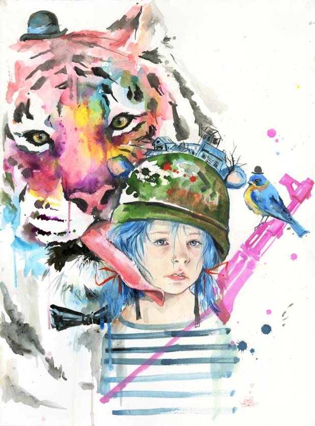 lora-zombie-art-grunge-contracultural-russian-artist-paints-acuarelas-modaddiction-8
