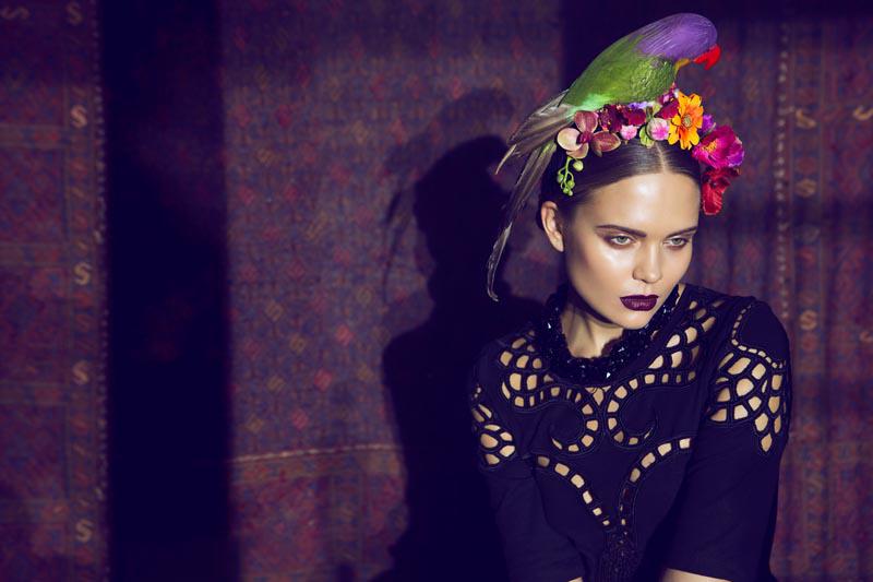 Frida kahlo pura inspiración de arte y moda