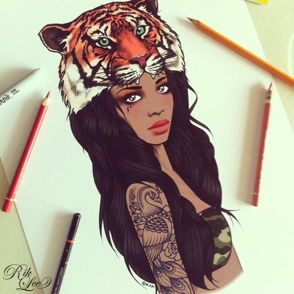 rik-lee-illustration-ilustraciones-art-arte-paints-tattoo-melbourne-modaddiction-14