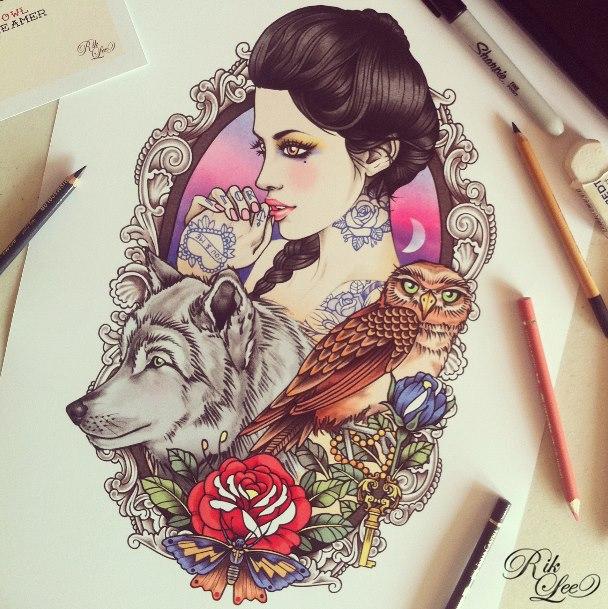 rik-lee-illustration-ilustraciones-art-arte-paints-tattoo-melbourne-modaddiction-15