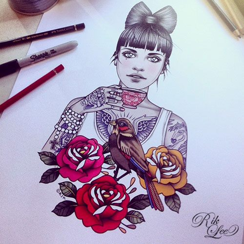 rik-lee-illustration-ilustraciones-art-arte-paints-tattoo-melbourne-modaddiction-16