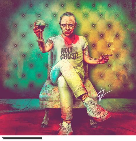 artista-chileno-fab-ciraolo-ilustraciones-hipster-cleopatra-frida-kahlo-salvador-dali-iconos-popart-modaddiction-0b