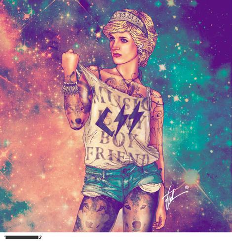 artista-chileno-fab-ciraolo-ilustraciones-hipster-cleopatra-frida-kahlo-salvador-dali-iconos-popart-modaddiction-1