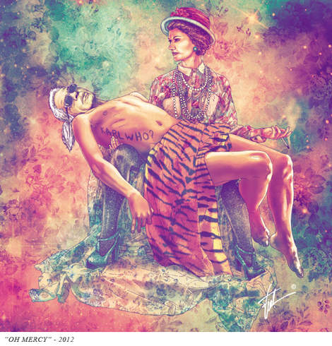 artista-chileno-fab-ciraolo-ilustraciones-hipster-cleopatra-frida-kahlo-salvador-dali-iconos-popart-modaddiction-6b