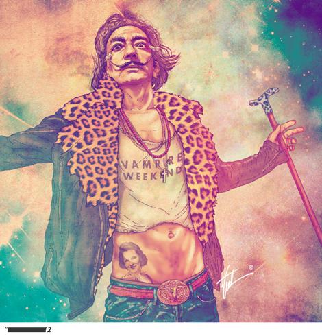 artista-chileno-fab-ciraolo-ilustraciones-hipster-cleopatra-frida-kahlo-salvador-dali-iconos-popart-modaddiction-9