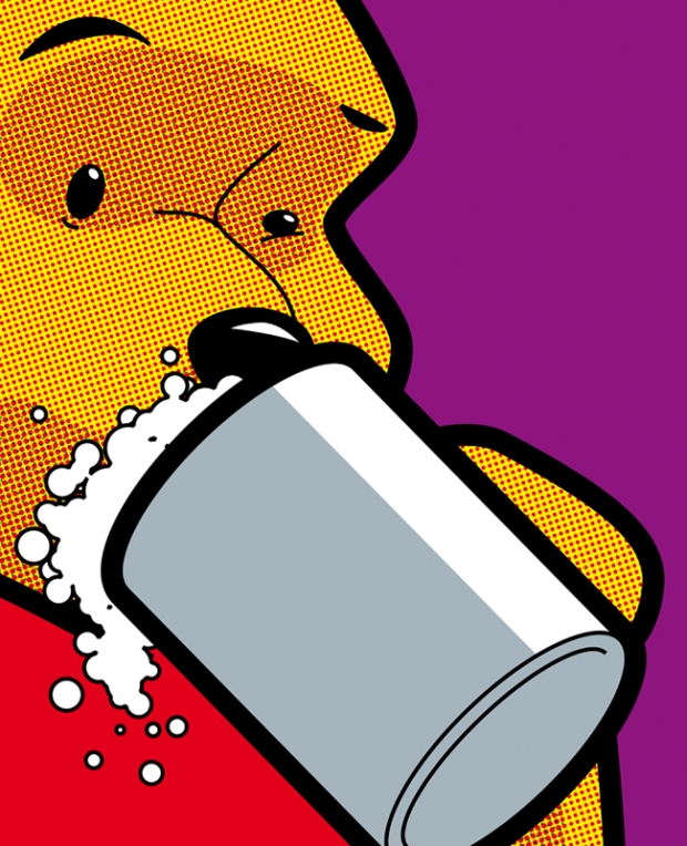 George-Guillemin-sex-drugs-disney-characters-popart-illustration-ilustraciones-arte-artista-frances-modaddiction-8