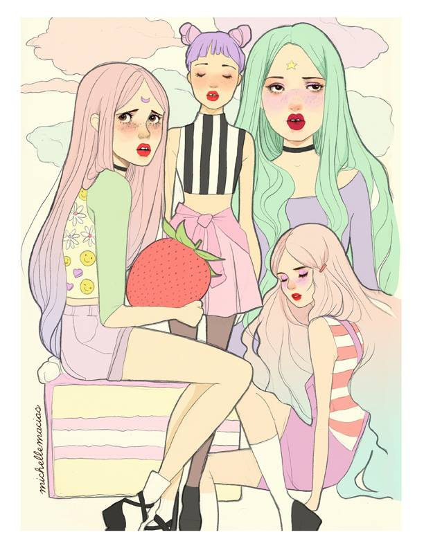 michelle-macias-ilustracion-arte-dibujos-chicas-illustration-art-draws-girls-blog-modaddiction-10