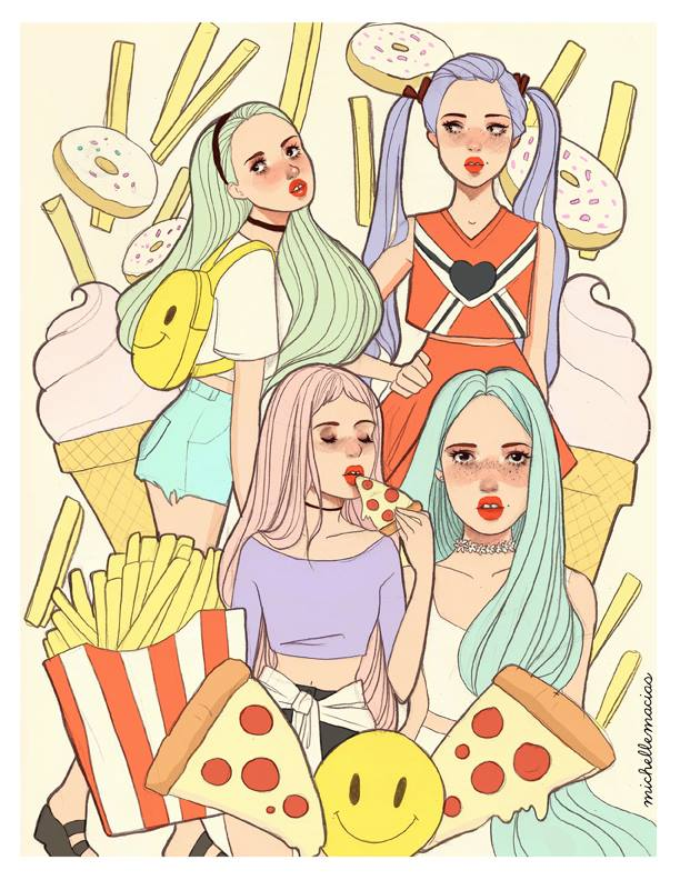 michelle-macias-ilustracion-arte-dibujos-chicas-illustration-art-draws-girls-blog-modaddiction-8