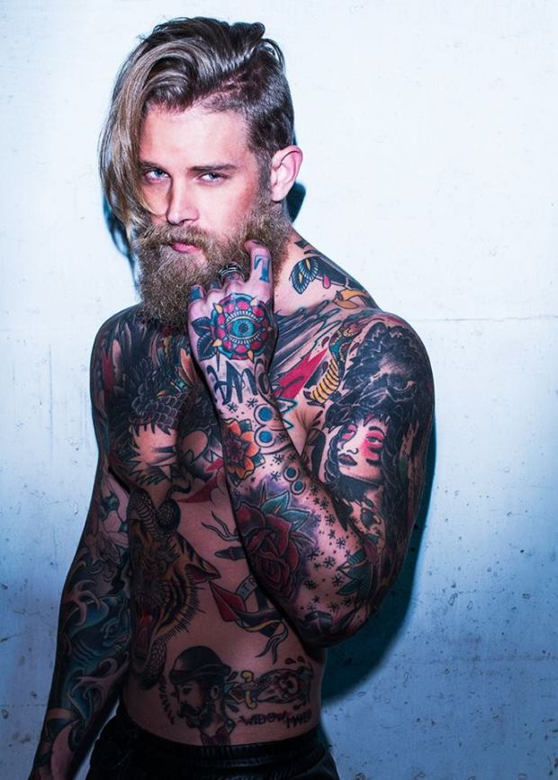 josh-mario-john-topmodel-tattoo-beard-barba-fashion-alternative-moda-alternative-estilo-hipster-style-blog-modaddiction
