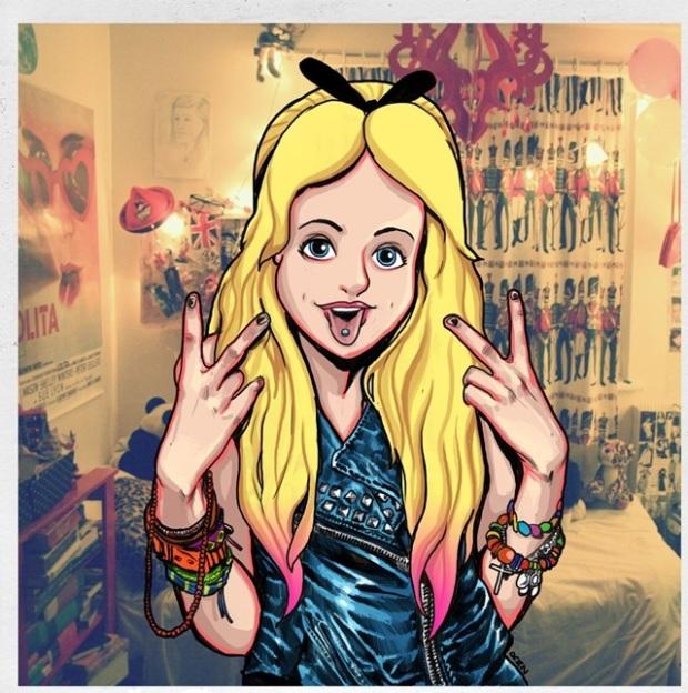 Hipster Princesas Disney