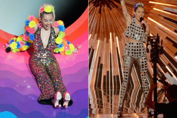 Miley Cyrus en los MTV Video Music Awards 2015