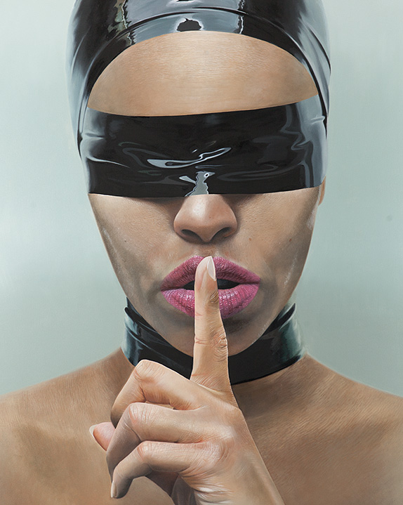 Mike Dargas german artist canvas