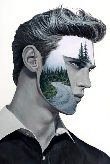 Beau Bernier Frank artist painting