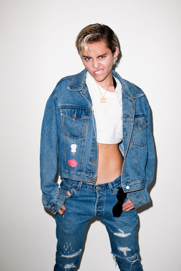 Miley Cyrus fotografiada por Terry Richardson